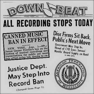 Pic of 1942–44 Musicians' Strike