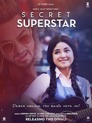 Secret Superstar 2017 Hindi BRRip 480p 450Mb x264