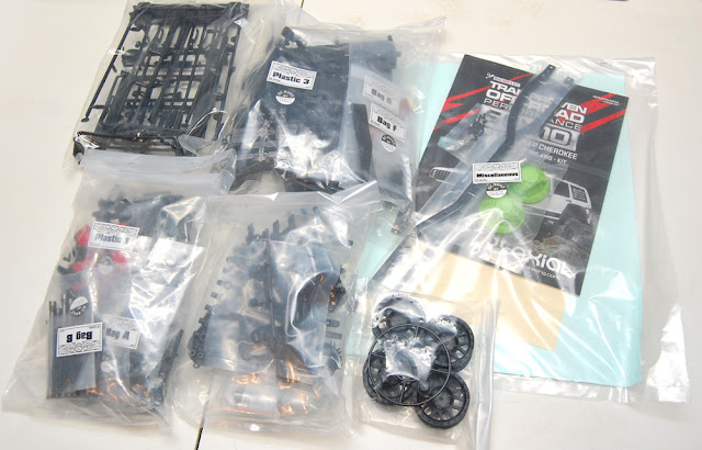 Axial SCX10 II Parts Bags