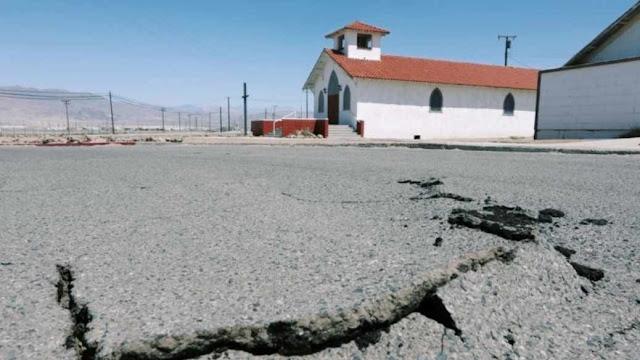Gempa 5,9 Guncang Perbatasan California-Nevada