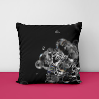 lilac cushion covers