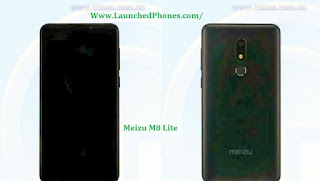 This telephone is listed on TENAA amongst the specifications as well as features Meizu M8 Lite specifications are listed on TENAA