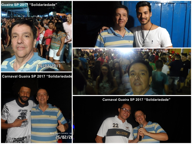 Fotos Carnaval Guaira SP 2017 segunda noite