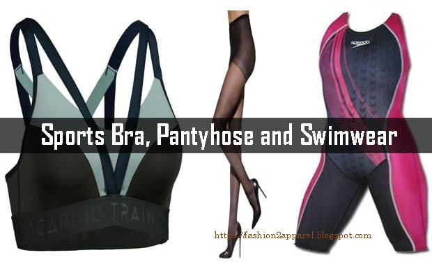 pantyhose and swimwear are very important intimate apparel for women Basic Functions and Application of Sports Bra, Pantyhose and Swimwear