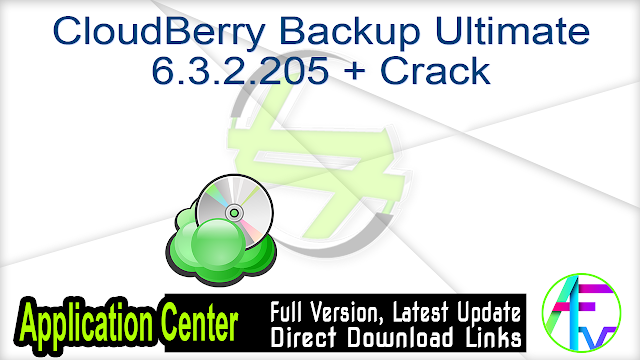 CloudBerry Backup Ultimate 6.3.2.205 + Crack