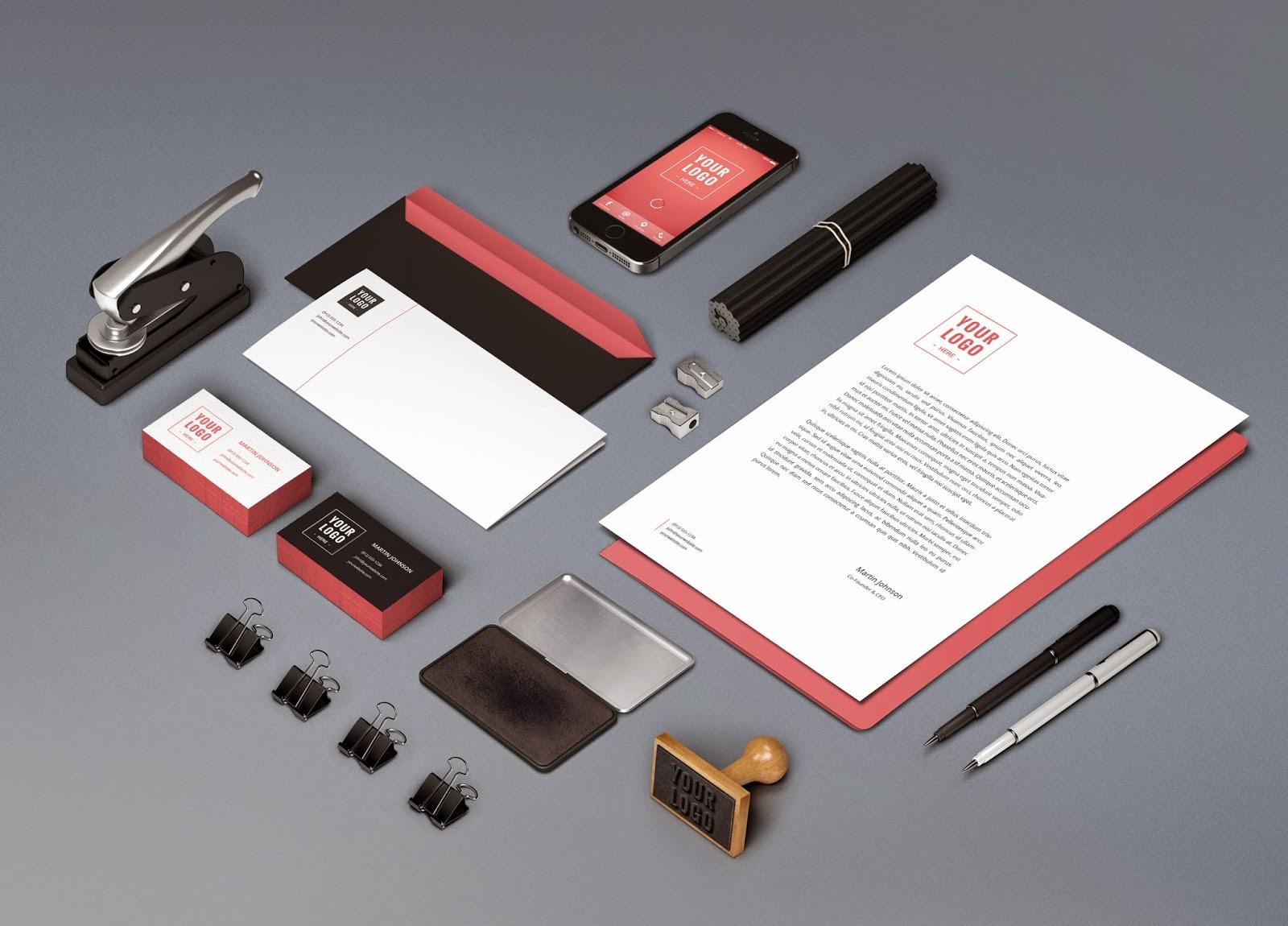 PSD Branding / Identity Mock-Up