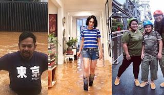5 Potret Rumah Artis yang Terkena Banjir Jakarta 2020