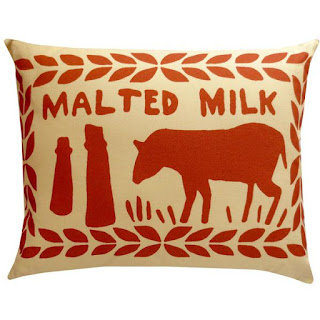 Nikki McWilliams Malted Milk Cushion