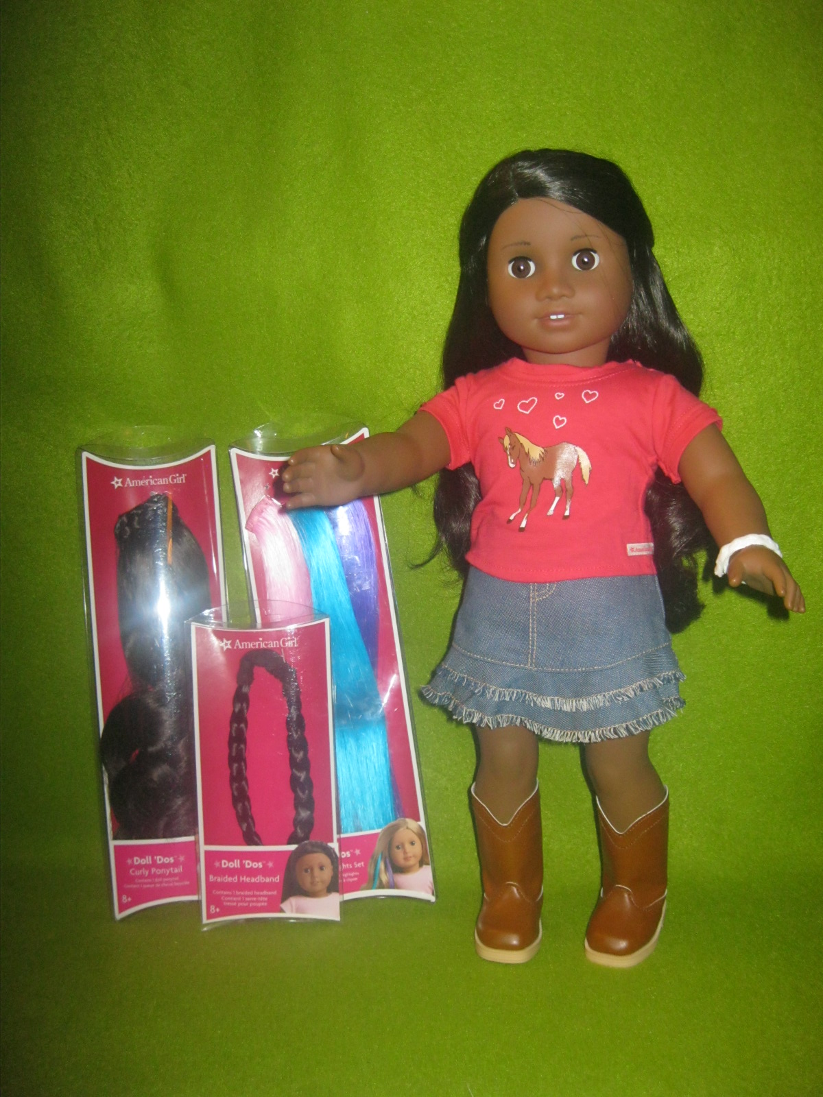 American Girl Western Riding Outfit 2010 One Left Tall Cowboy Boot For Doll Only