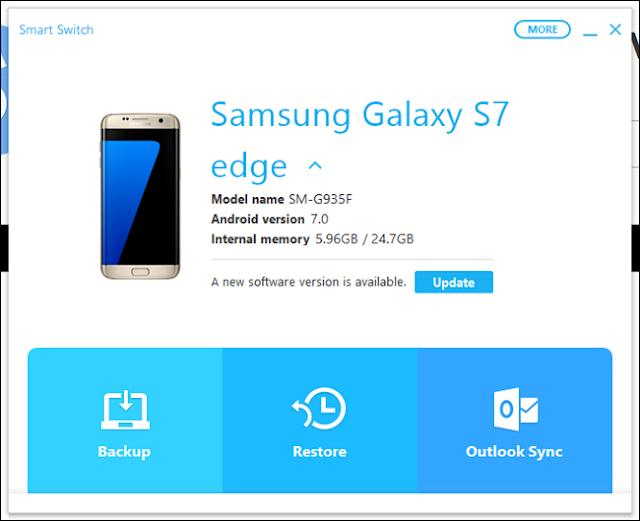 Cara Menggunakan Samsung Smart Switch Untuk Mengupdate Ponsel Samsung Galaxy
