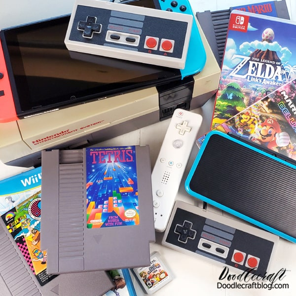 What is your favorite video game? Does someone you love play video games? What's your preferred video game console?  I love Nintendo. We play most games on PC's now, but still have a broad Nintendo collection and can't wait for The Legend of Zelda: Skyward Sword to come out on Switch this month!