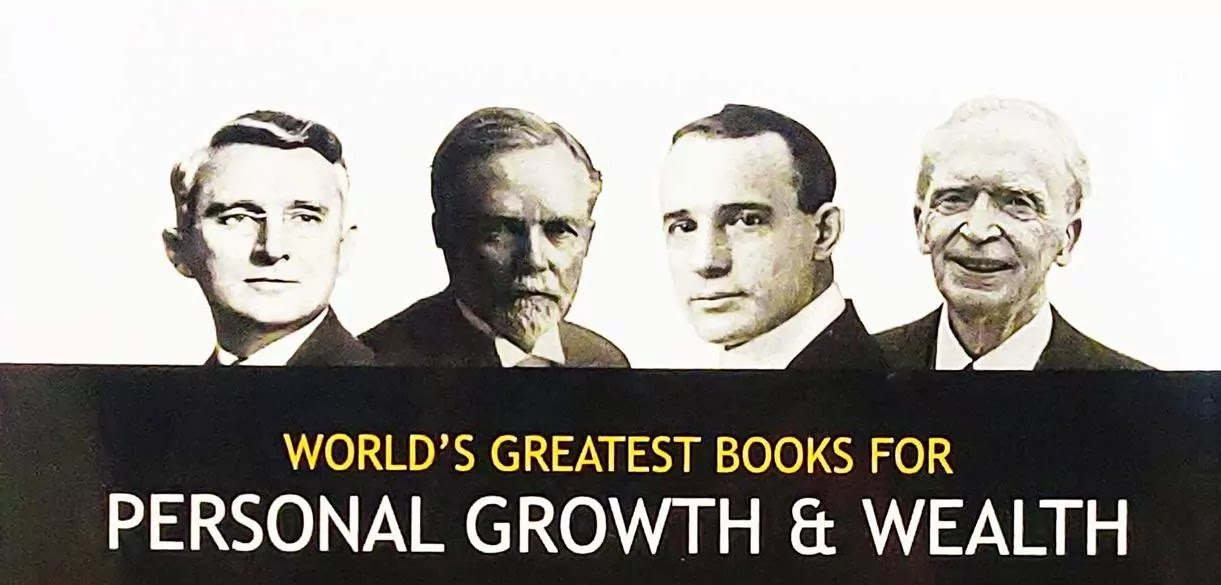 World's greatest books for personal growth & wealth