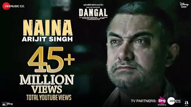 Naina Song Lyrics | Lyrics in hindi and  english | Dangal song lyrics | Arijit Singh Naina |