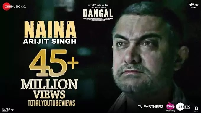 Naina Song Lyrics | Lyrics in Hindi and English | Dangal Full Movie Song Lyrics | Arijit Singh Naina | Dangal |
