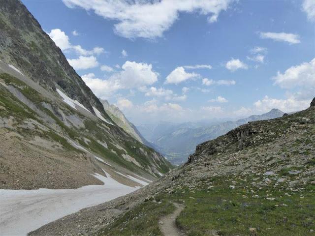panorama valli svizzere Col Petit Ferret