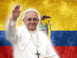 vacacion por visita del papa francisco a Ecuador