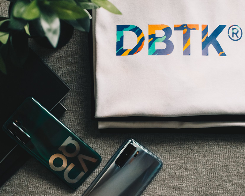 Huawei teams up with DBTK to feature nova 7 SE 5G in a streetwear collection