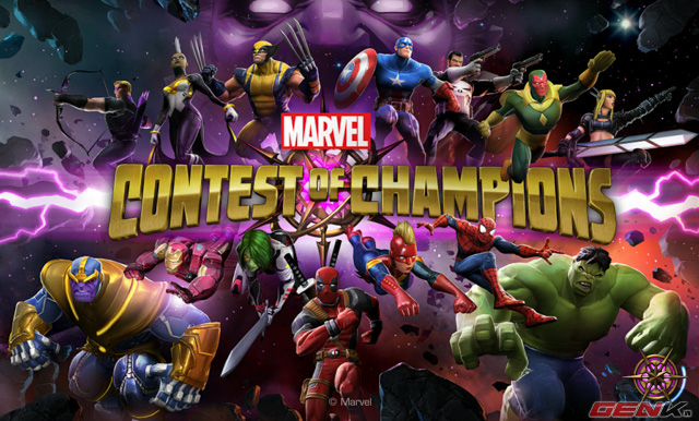 Marvel Contest of Champions MOD : God Mode