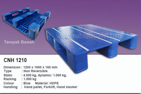 Pallet Plastik Hygiene Duty CNH 1210