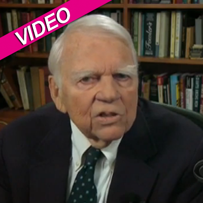 Andy Rooney - Customer Gifts help make them cranky:)