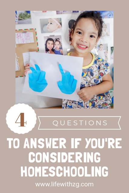 4 questions to help you if you're considering homeschooling.
