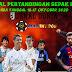 Jadwal Pertandingan Sepakbola Tgl 16 - 17 Oktober 2020