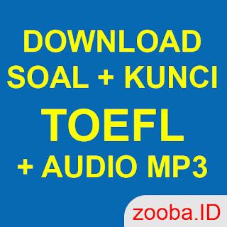 DOWNLOAD SOAL LISTENING TOEFL + KUNCI JAWABAN PDF + AUDIO ...