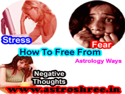 astrology ways for stress, negative throughs