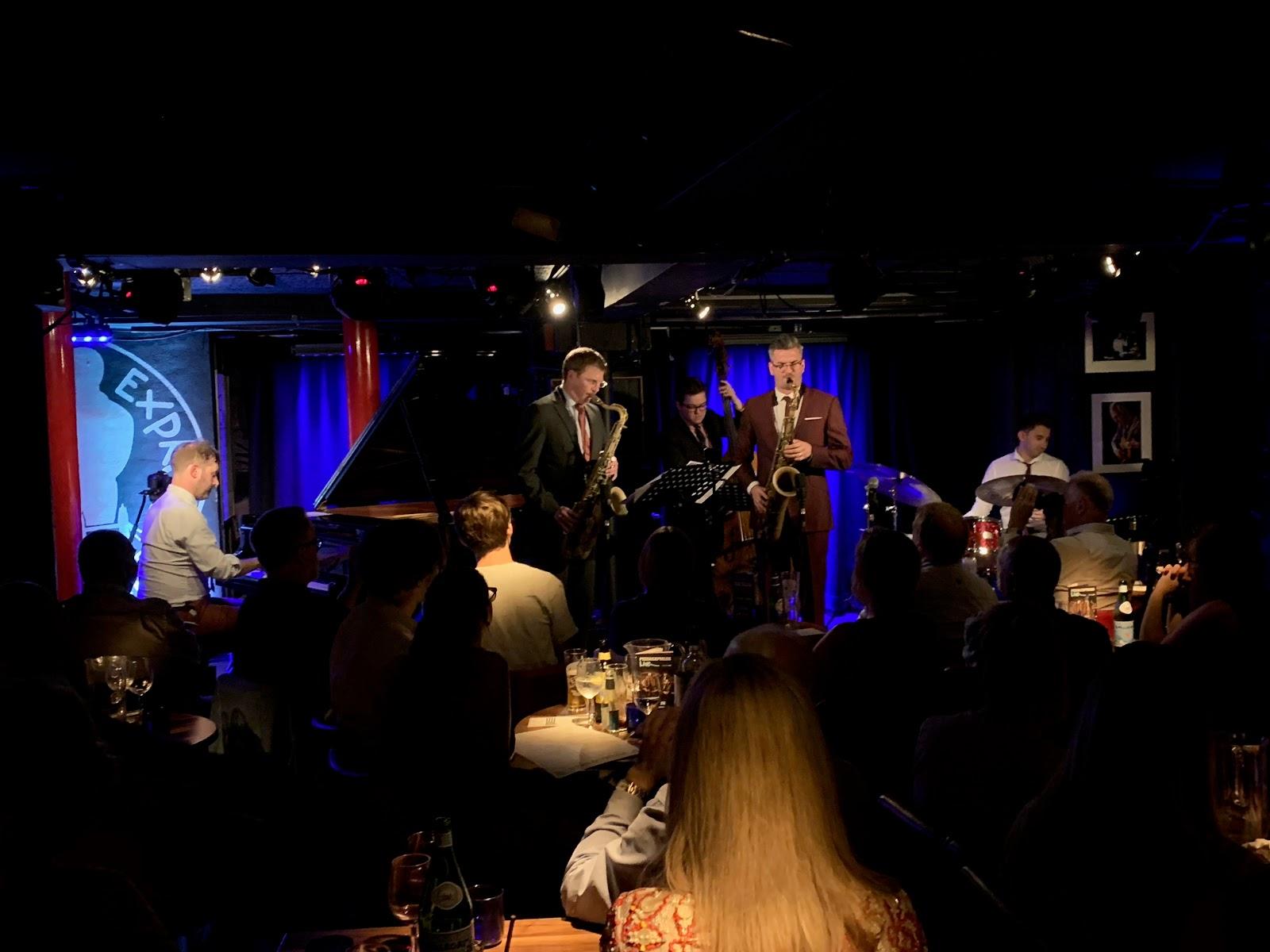 Bebop Spoken Here Leo Richardson Quartet Album Launch
