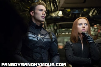 Captain America Steve Rogers and Black Widow Natasha Romanoff return