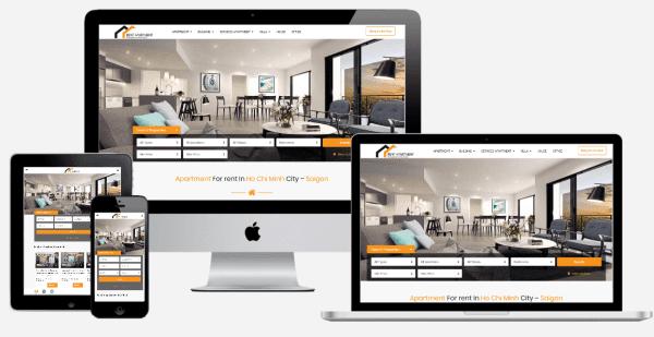Zubi Cloud thiết kế website Bất Động Sản uy tín tại Hà Nội