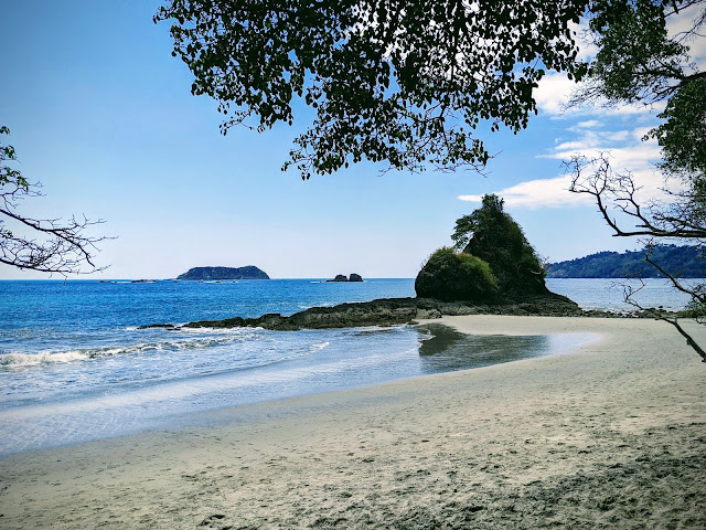 Costa Rica Itinerary: Beach at Manuel Antonio National Park