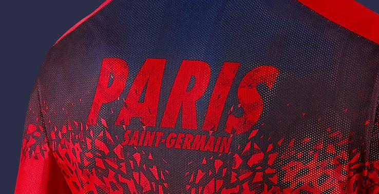 buy online cfcf0 21c2e Paris Saint-Germain 2016 Pre-Match and Training Shirts ...