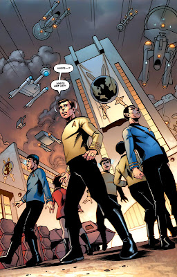 Star Trek/Legion of Super-Heroes #1 By Chris Roberson, Jeffrey Moy, Philip Moy, Robbie Robbins, Romulo Fajardo Jr.