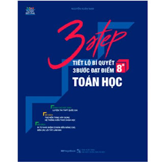 3 Step - Tiết Lộ Bí Quyết 3 Bước Đạt Điểm 8+ Toán Học ebook PDF-EPUB-AWZ3-PRC-MOBI