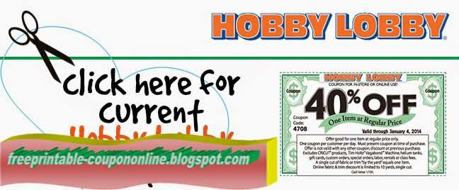 Printable Coupons 2020 Hobby Lobby Coupon