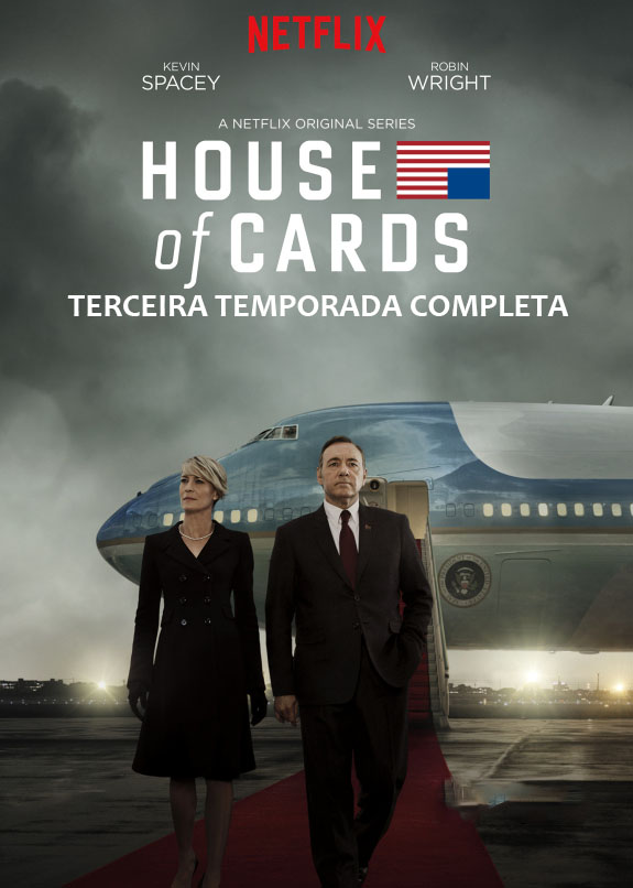 House of Cards 3ª Temporada Torrent - WEBRip 720p Dual Áudio (2015)