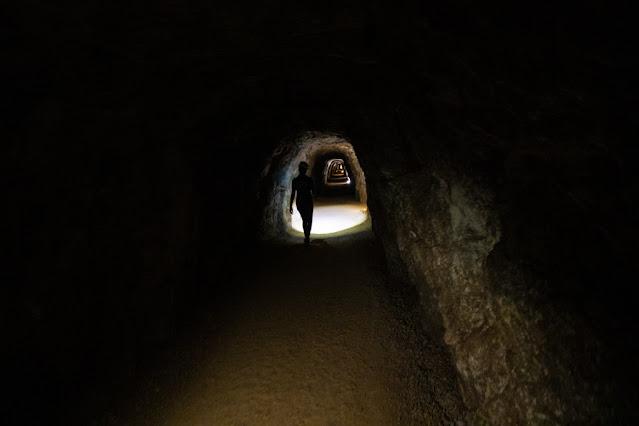 Porto Flavia-Tunnel
