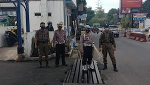 Bersama Tiga Pilar, Polsek Cidadap Polrestabes Bandung Yustisi Gakplin