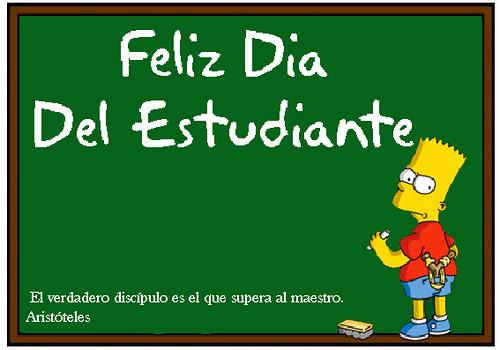 Imagen De Feliz Del Dia Del Estudiante