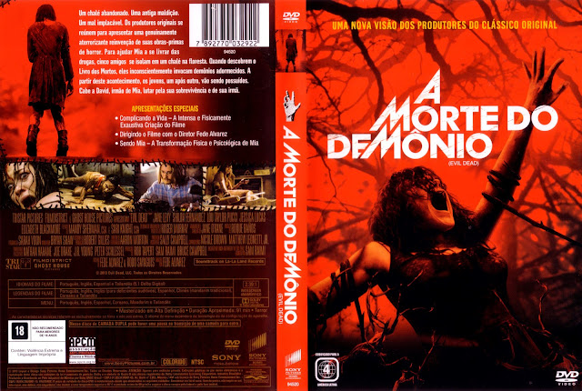 Capa DVD A Morte do Demônio