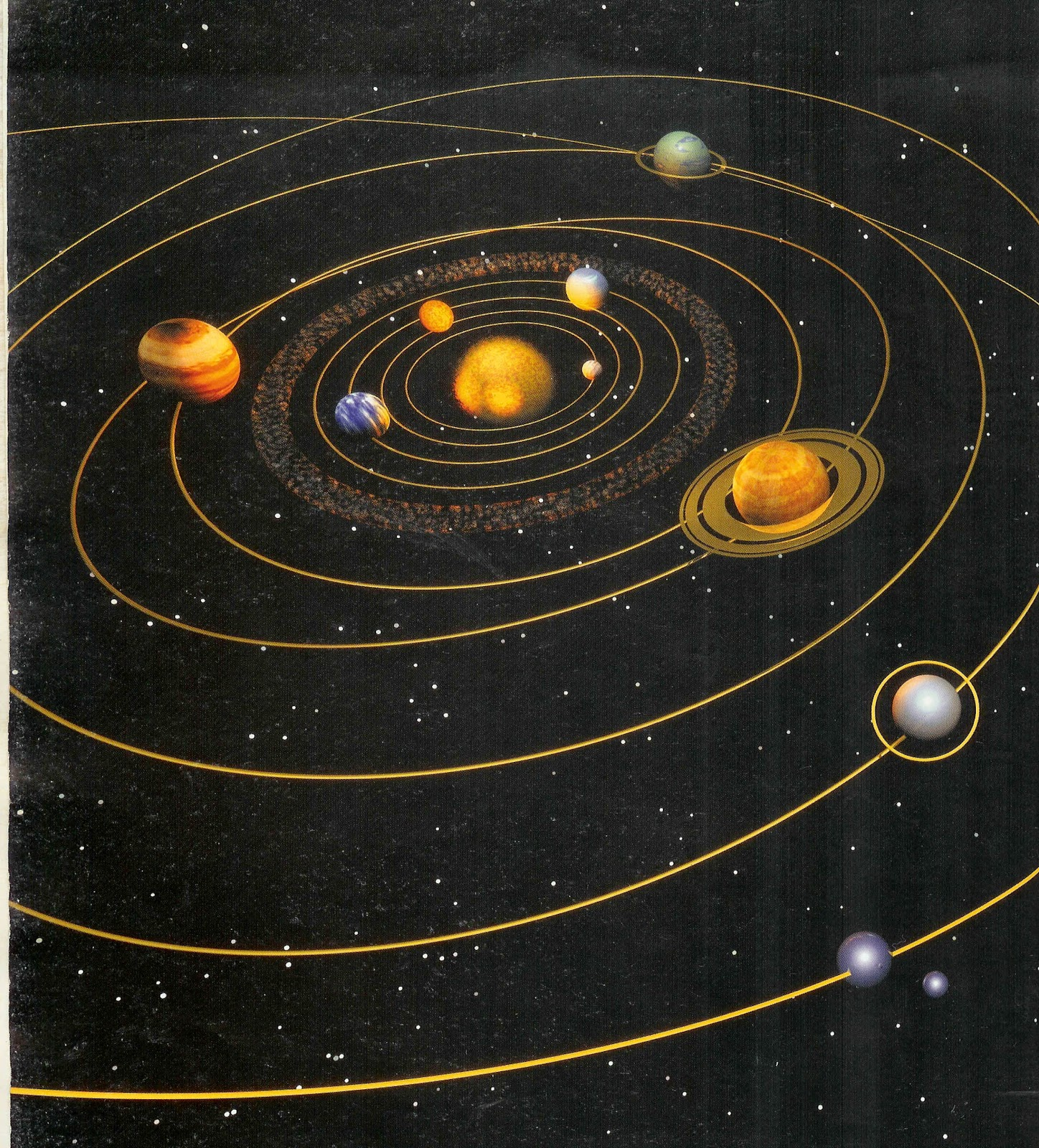 location of the planets in the solar system - photo #17
