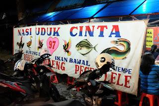 Nasi Uduk Cinta Bandung, Kuliner Bandung