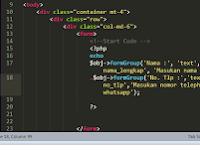 Tutorial PHP : Menyederhanakan Input Type kedalam Class