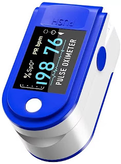 DR VAKU Blood Oxygen Saturation Monitor | Best Oximeter in India for Home Use | Best Pulse Oximeter Reviews