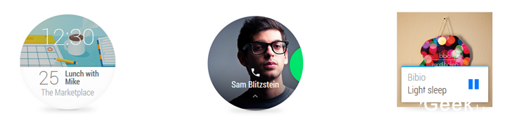 Geekulture - Interface Android Wear