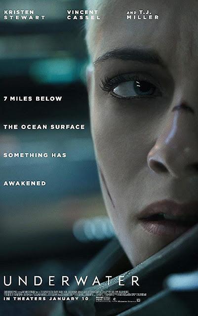 Sinopsis Film Underwater (2020) - Kristen Stewart, Vincent Cassel