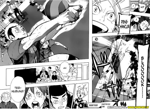 Komik Manga Haikyuu Chapter 306 Bahasa Indonesia