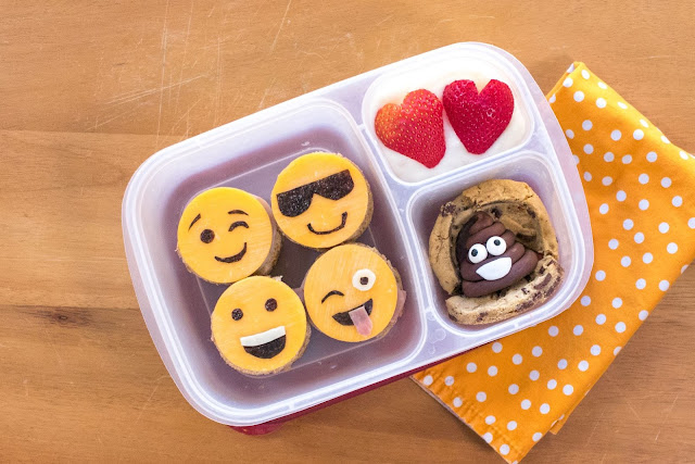 How to Make an Emoji Sandwich and Poop Emoji Cookie!