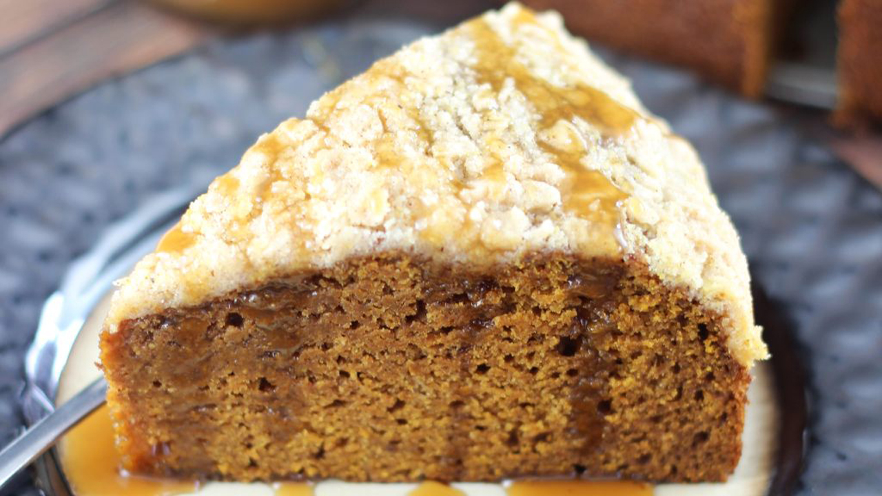 Pumpkin Gingerbread Bundt Coffee Cake Recipe
